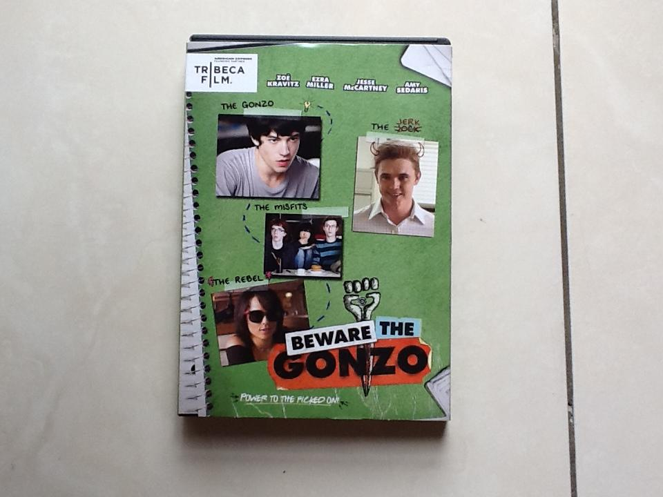 WTS DVD BEWARE THE GONZO ORIGINAL ( STARRING JESSE MCCARTNEY )