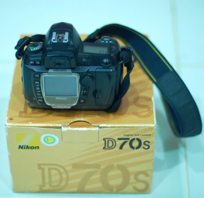 nikon d70s ex alta golden box