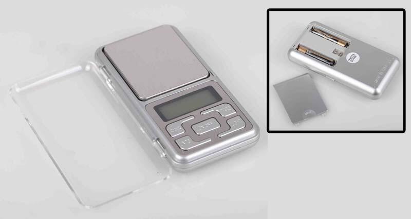 Timbangan badan, koper, saku, gantung, Thermometer, Hygrometer / Higrometer digital