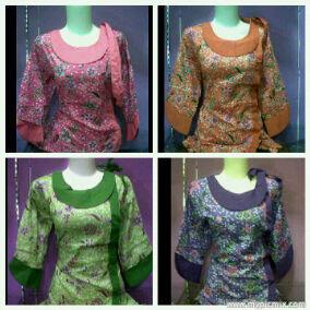 ****Blouse Batik cute and stylish****