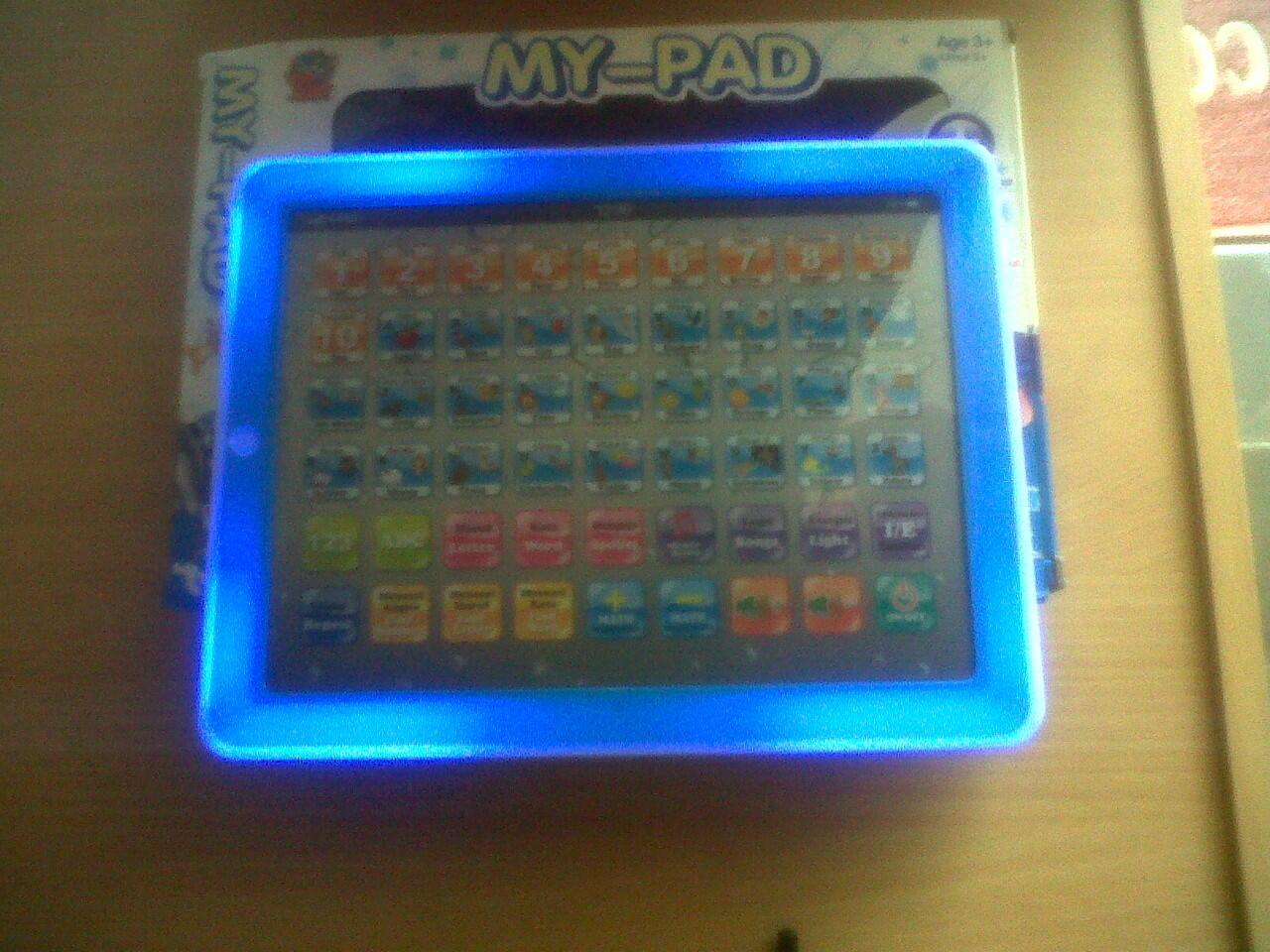 My - Pad ( Pink dan Biru ) Mainan Edukasi Buat Anak TK dan PAUD Jogja/Yogya