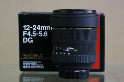 jual lensa SIGMA 12-24MM F/4.5-5.6 EX DG