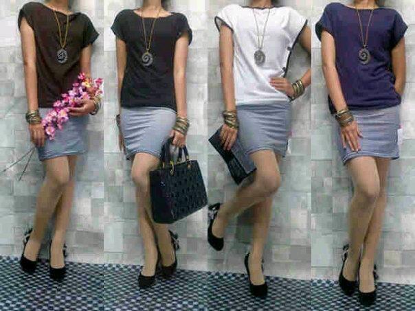 Aneka short dress / mini dress / dress pendek - Bandung