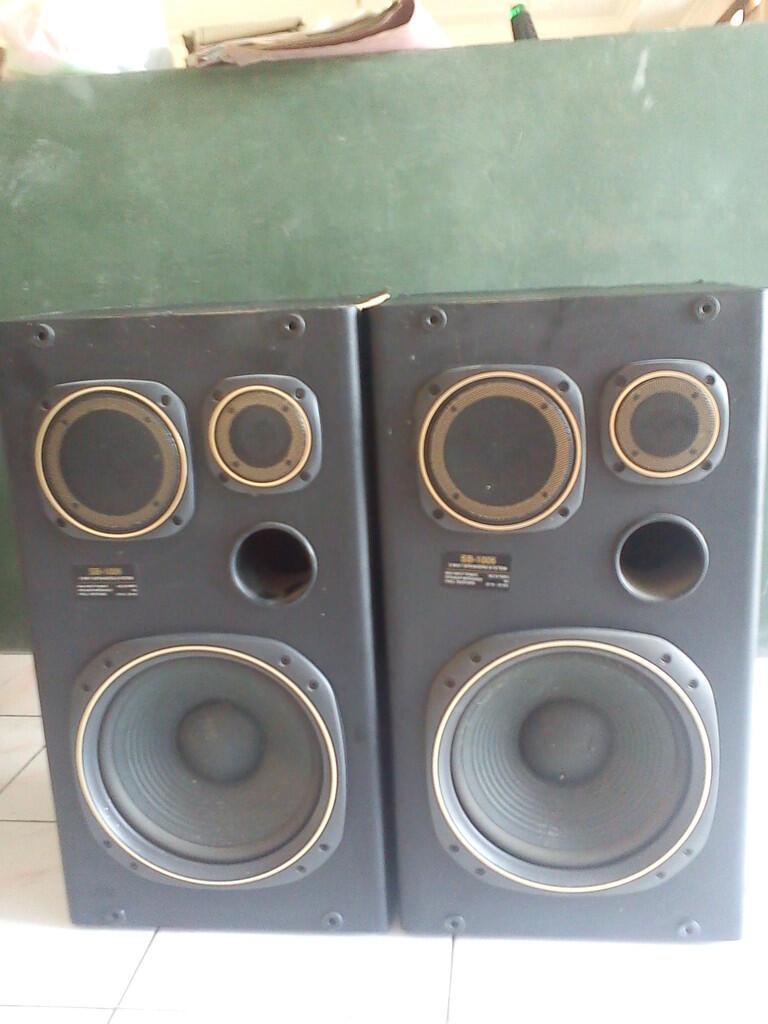 Tape Deck Polytron BB 652 K dan Speaker - Jogja, yogyakartar, yogya