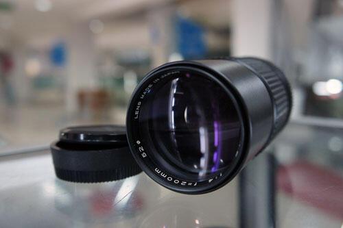 [KLIKcamera]Lensa Mamiya 200mm 1:4 Mount nikon