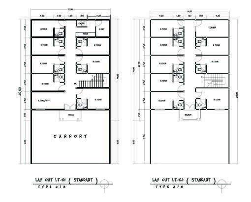 Rumah Kost Eksklusif Tahap 6 dengan Pandapatan 320Jt-an, UNIT TERBATAS