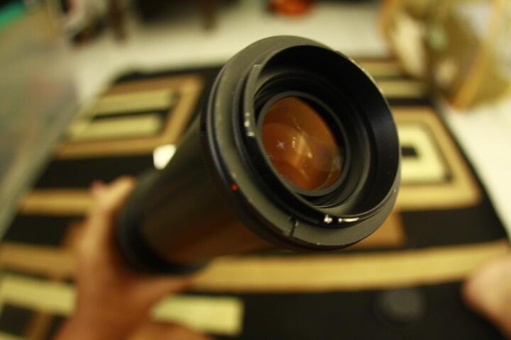 lensa manual vivitar #supertele 650-1300mm [maksimal bisa sampai 2600mm]