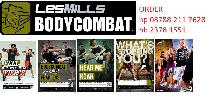 DVD LES MILLS FITNESS WORKOUT 2012