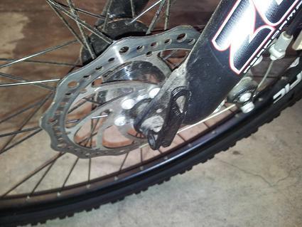 Jual Sepeda MTB Merk Pacific Exotic Merah Murahh Jarang Pakai