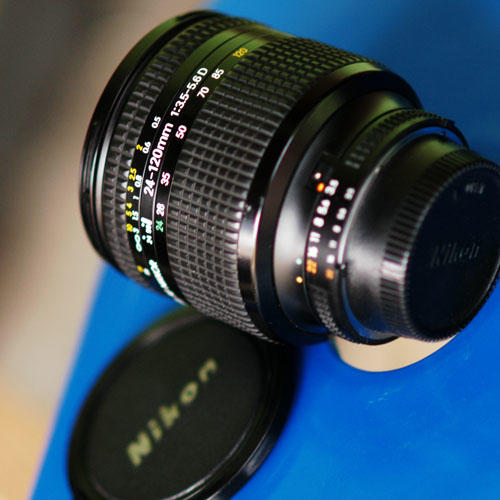DIJUAL NIKON 24-120mm f3.5-5.6D mulus MINT