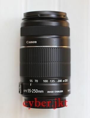 CANON EFs 55-250mm IS II NEW !!! GARANSI DS