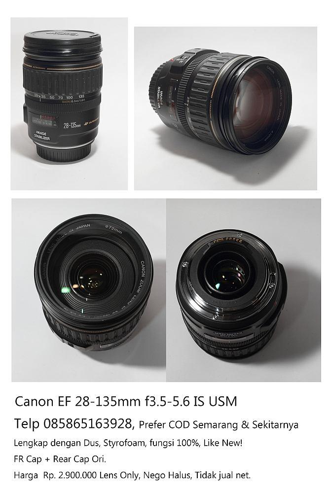 Jual Canon EF 28-135mm IS USM Lens