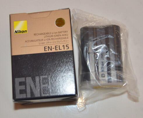 (WTS) Batre Nikon EL15 New buat D7000 ato D600 belum dipake