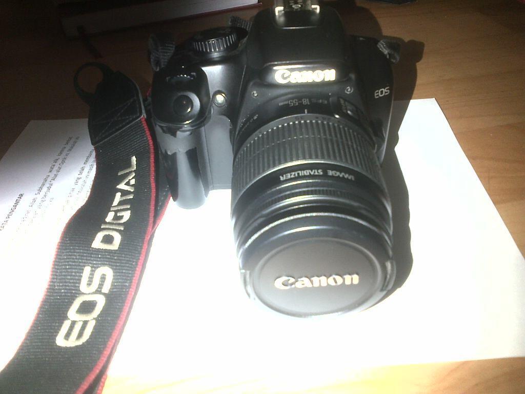 [JUAL] Camera DSLR Canon 1000D+KIT+Tas Lowepro