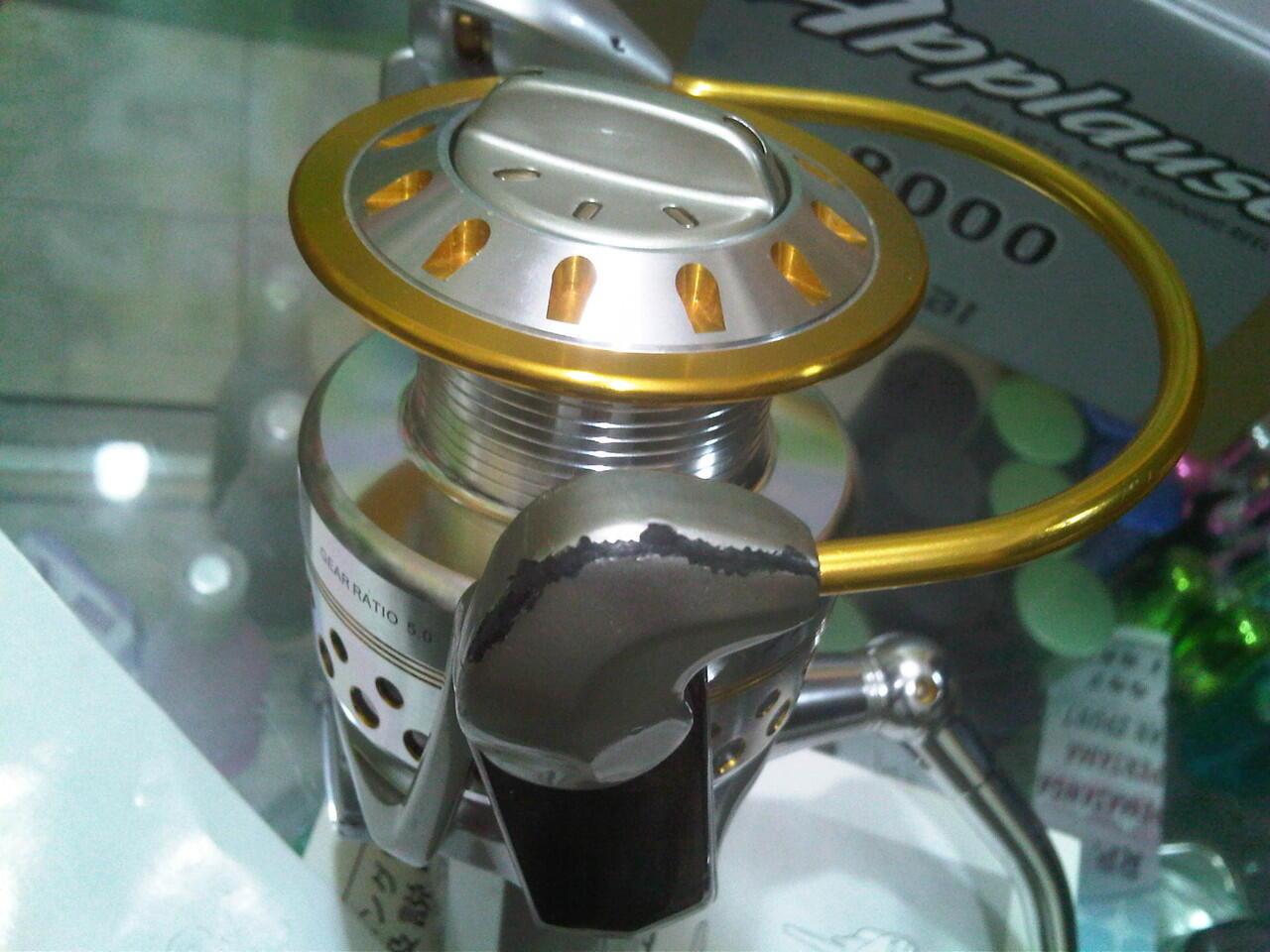Reel Pancing Ryobi Applause 6000 & 8000 murah