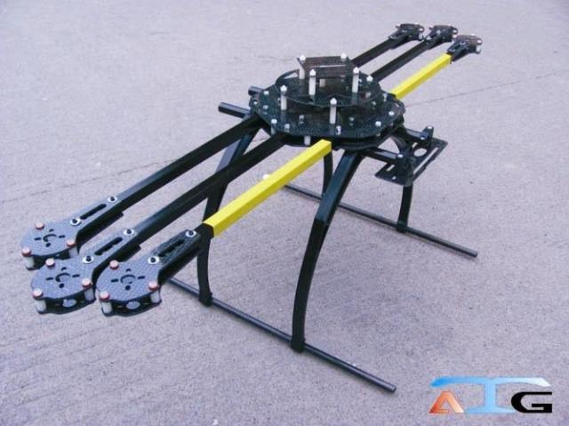 HEXACOPTER FRAME ATG 600 mm