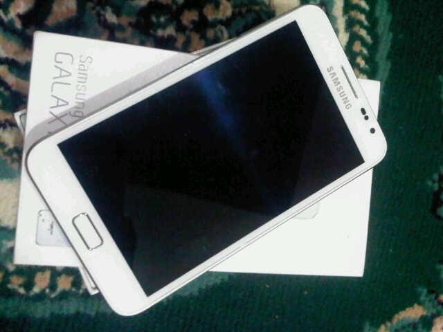 WTS Samsung Galaxy Note Mini White Second Garansi