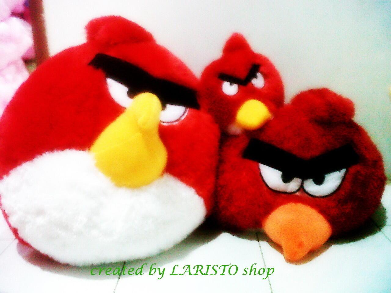 Boneka angry birds berbagai ukuran termurah sekaskus raya