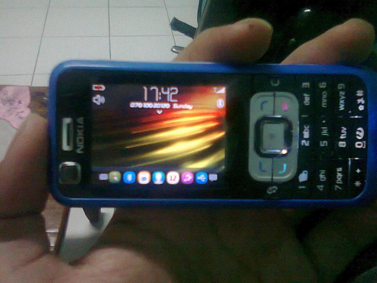 Repost WTS Nokia 6120c bekasi banyak bonus + pict