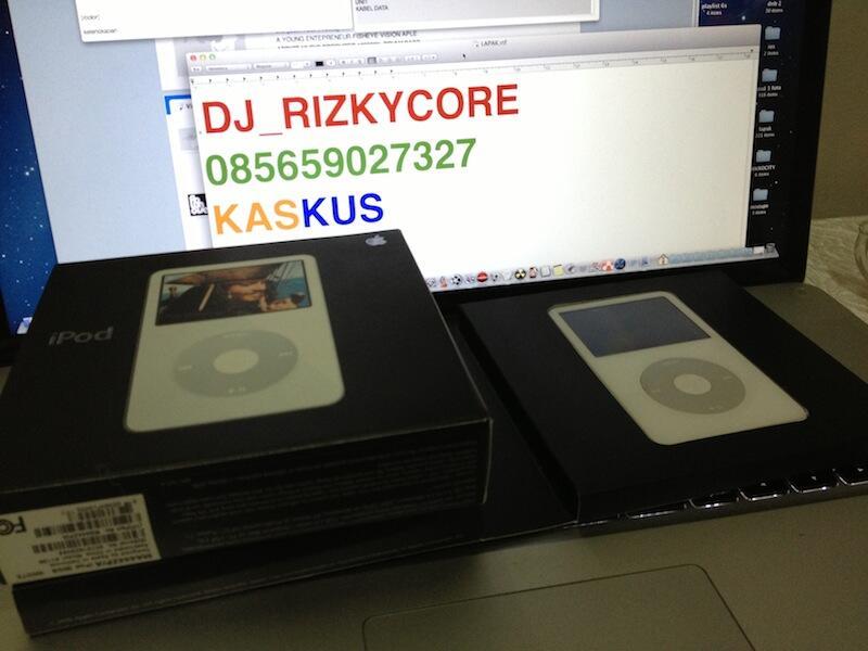 iPod Video 30gb white Wolfson audio BANDUNG