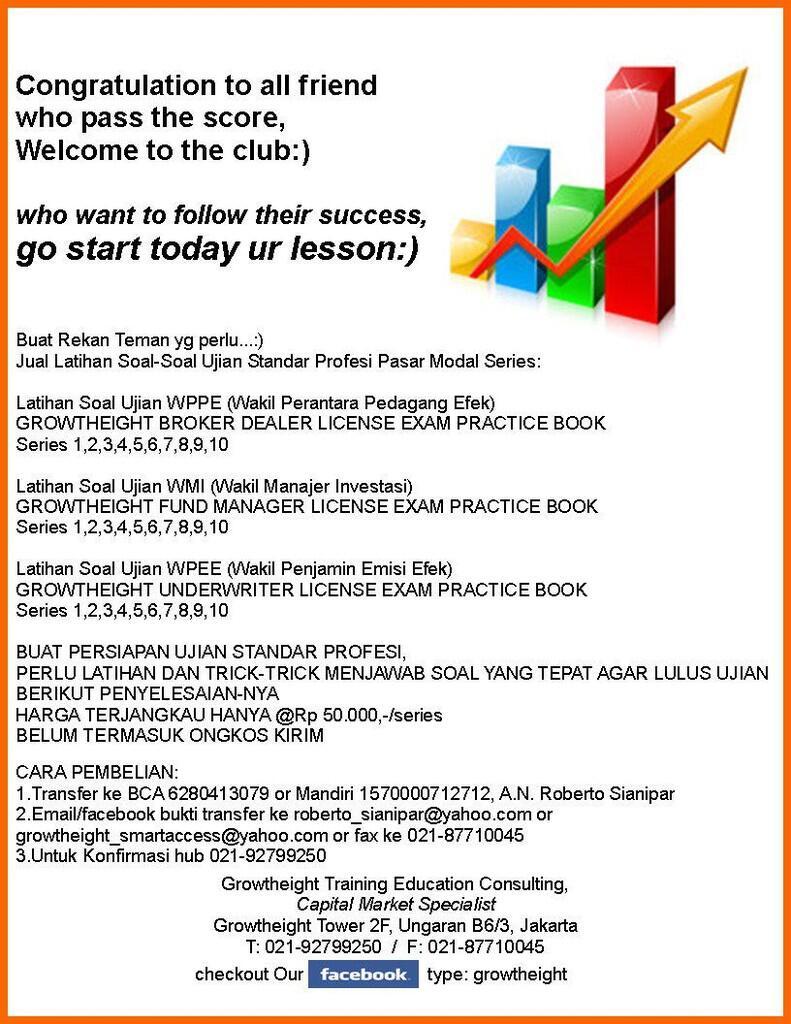 WPPE,WMI Latihan Soal-Soal Ujian Standar Profesi PASAR MODAL SERIES
