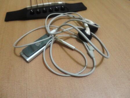 Ipod Shuffle gen 3 silver 2GB