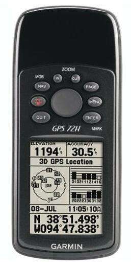 GPS Garmin 72H Hub AULIA 08788042880