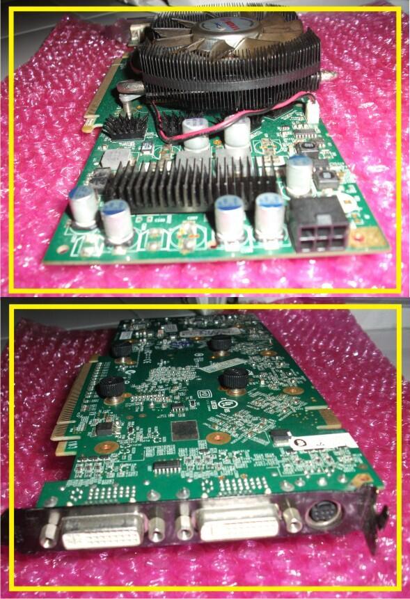 Vga PCI-E INO 3D 8800 GT 512mb 256bit GDDR3 Cocok Buat Gamming