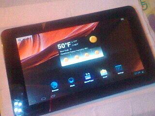 Tablet PC Murah Merk Advan T2C Android 4.0 Mulus 99% Garansi masih 10 bulan Semarang