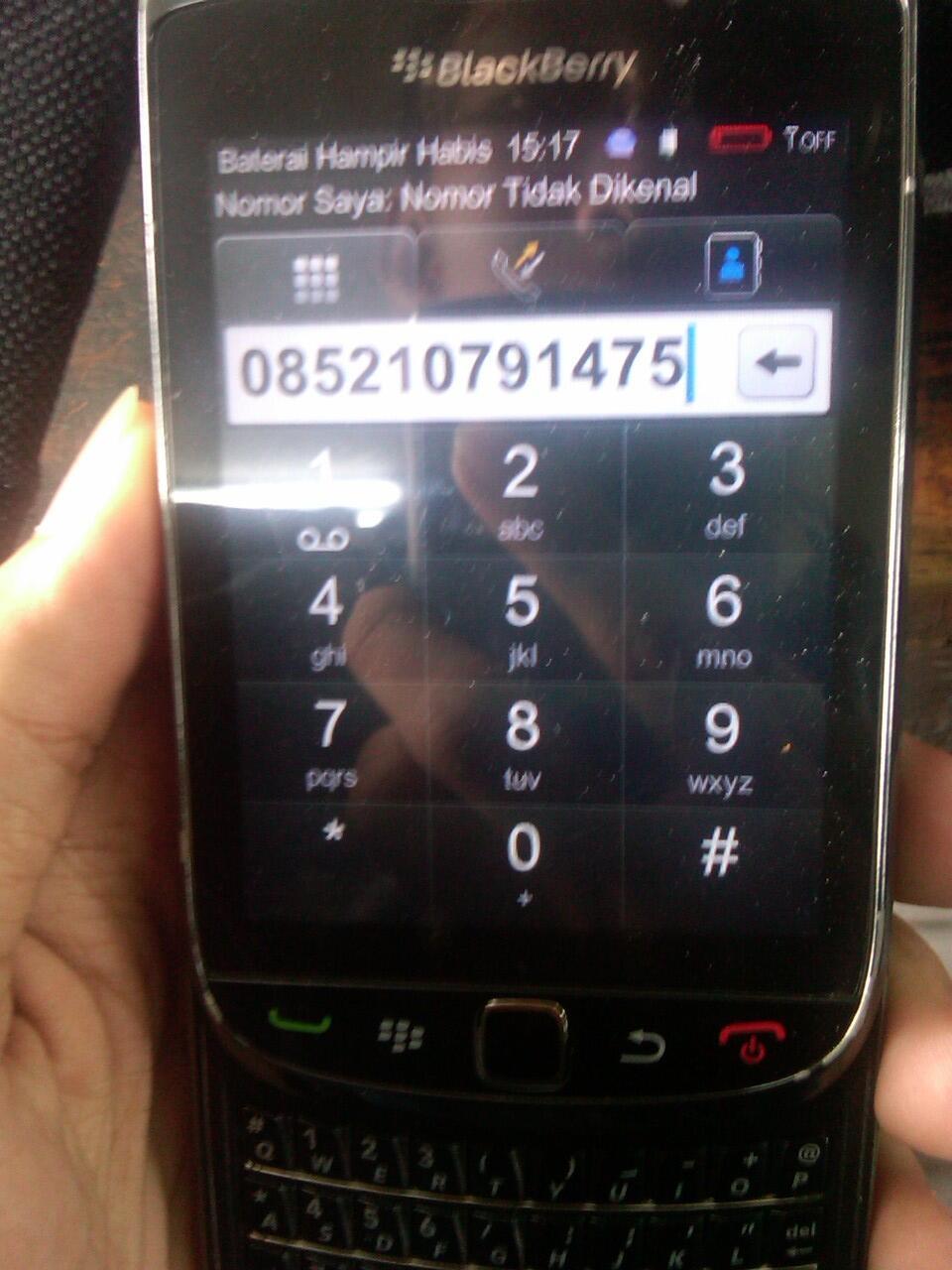 Blackberry Torch 9800 ex TCELL Fullset Mulus