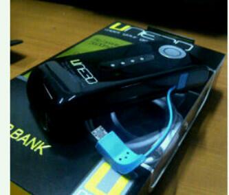 jual powerbank UNEED 5600i new item.. mari diorder bos..