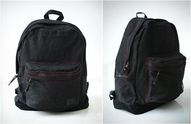 BACKPACK DENIM / SUEDE - Sangat Casual