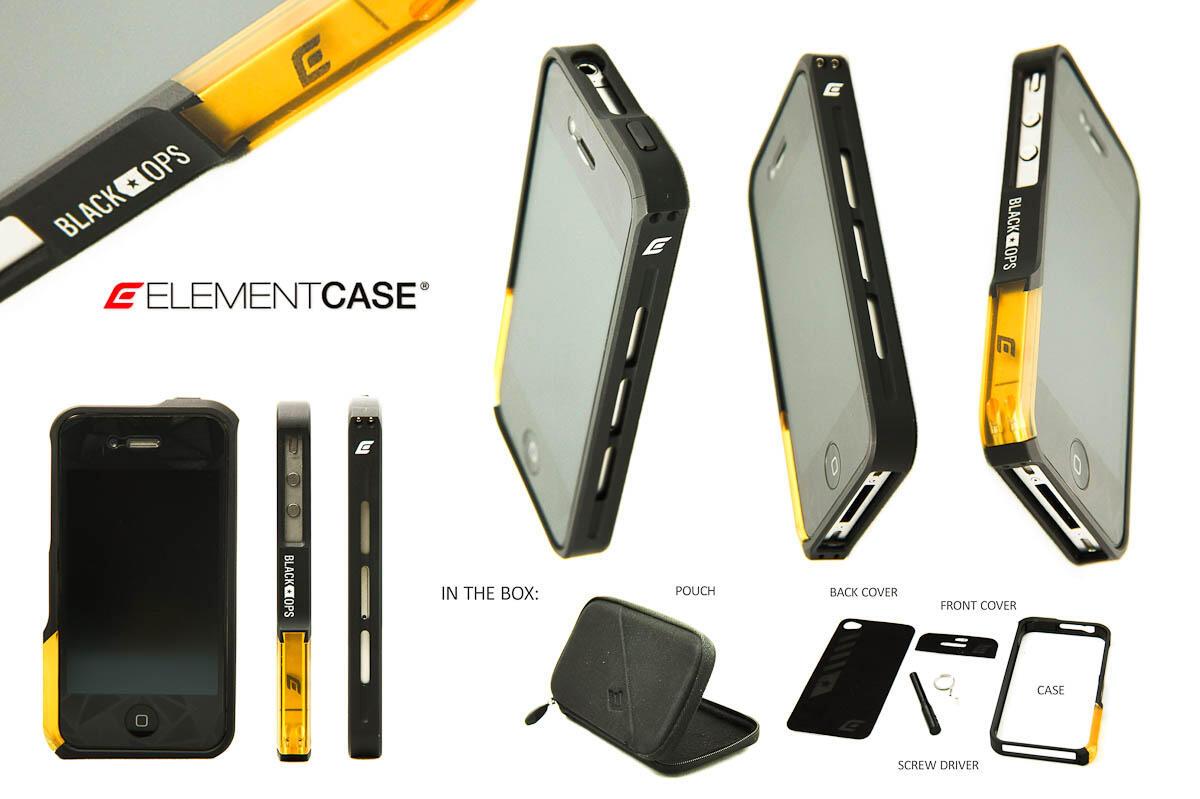 ELEMENT CASE VAPRO PRO BLACK OPS, for iphone 4/4s