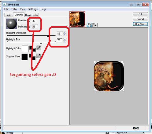 ��� [Tutorial] Cara Mudah Membuat Avatar menggunakan Macromedia Fireworks 8 ���