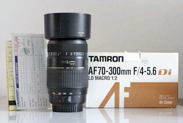 Tamron 70-300 Di LD Macro for Canon Murah Negoooo
