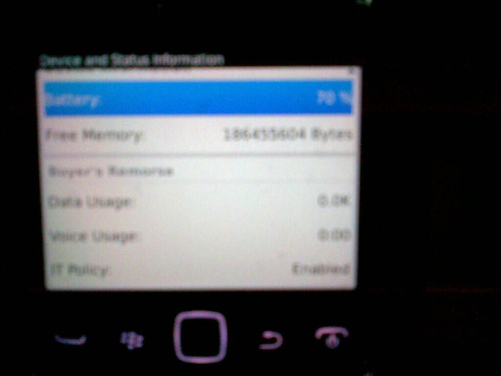 Blackberry 9790 Belagio Garansi COMMTECH baru harga seken