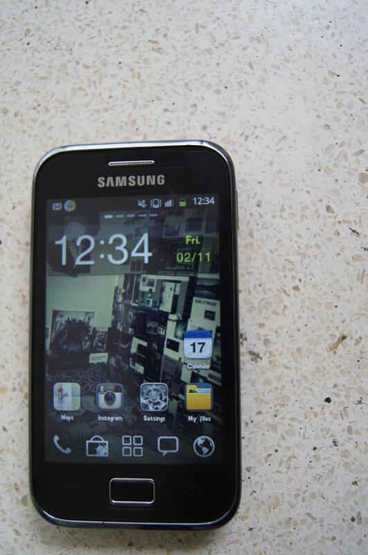 Samsung : GALAXY ACE PLUS S7500 MALANG