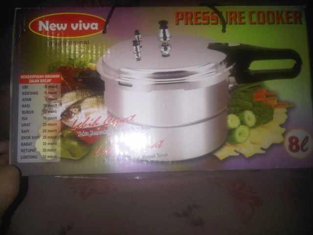 panci presto new viva pressure cooker