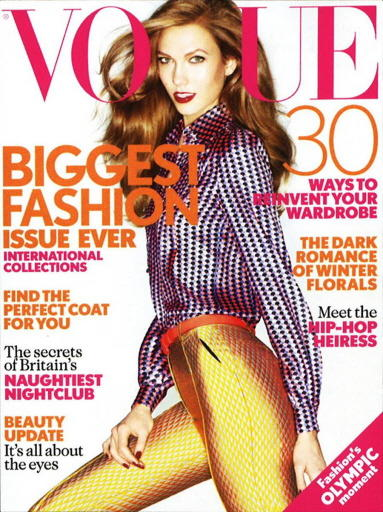 -- E-Magazine-Vogue UK - September 2012 --