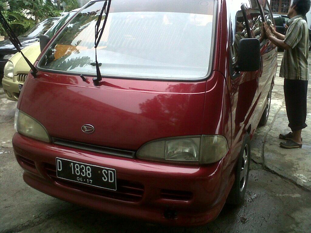 Daihatsu Espass 1997 Warna Merah Istimewa