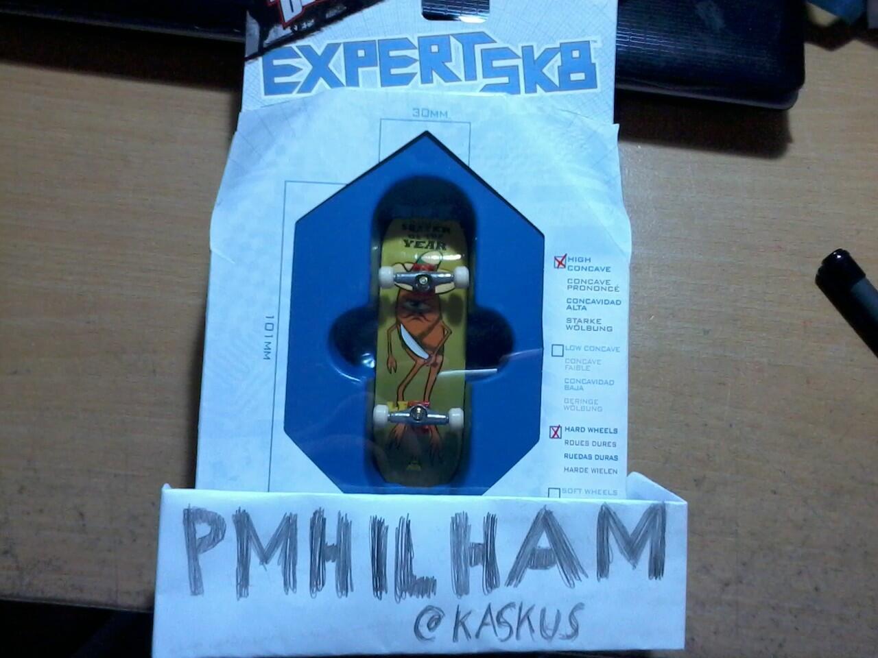 Techdeck Wooden deck Expert SK8 Series (Murah gan!)