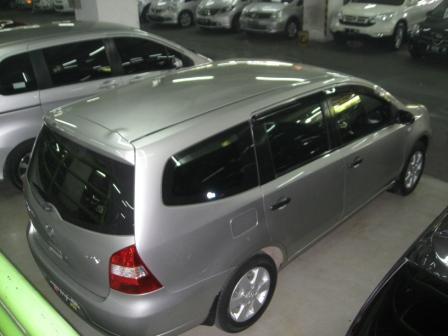 Nissan Grand Livina XV automatik 2008 Abu-abu Istimewa