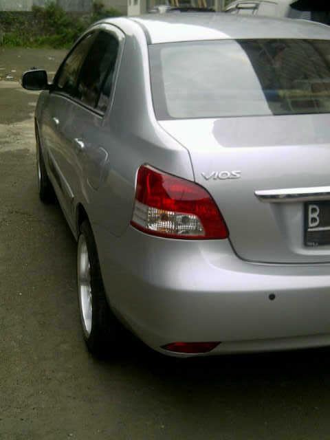 WTS Toyota vios G A/T 2008 Silver