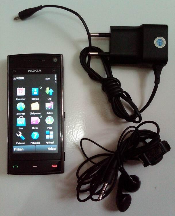 NOKIA X6 - 16 GB /FASILITAS MANTAP - JUAL -M U R A H- CPT DAPAT!!