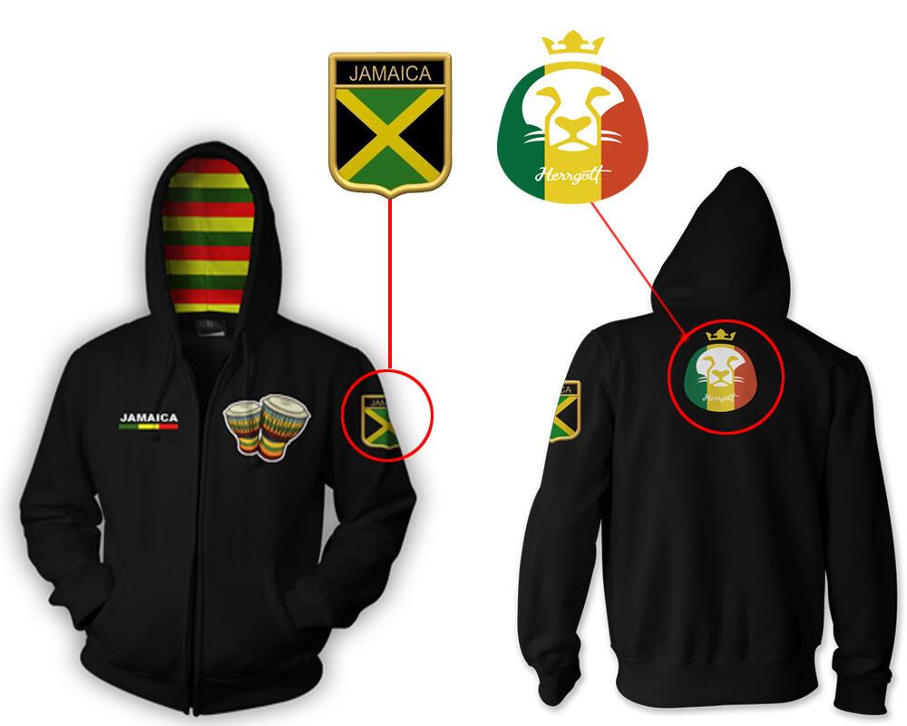 ☮ Jamaica Hoodie (Pre-Order) ☮