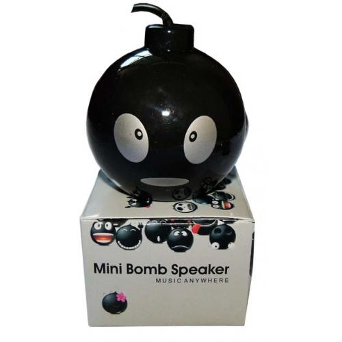 Speaker MiniBomb , KEcil Tapi Bombastis ... ! Bisa untuk Gantungan Kunci