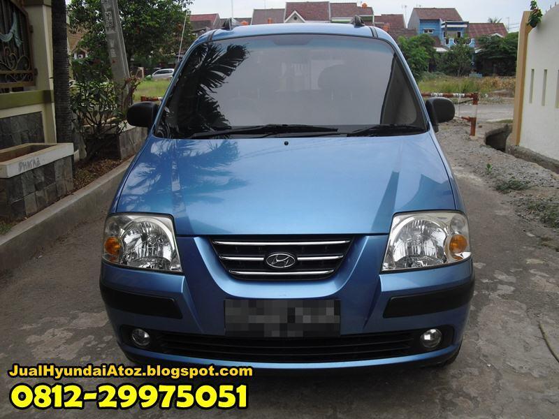 HOT CITY CAR !!! Hyundai Atoz 1.1 GLS 2006 Biru Metallic Manual Plat B Full Orisinil