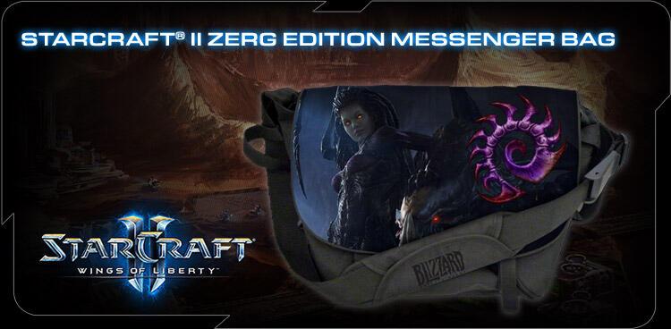 [RaVeN] Razer keyboard Bag, Messenger Sling Bag, Messenger Sling Bag Star Craft II