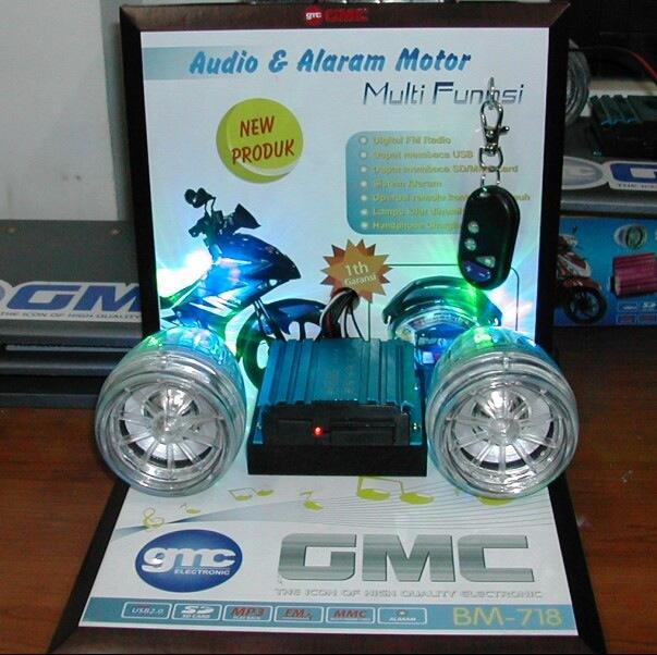 Audio motor gmc bm718
