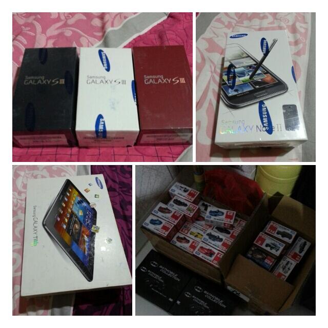 JUAL : Galaxy S3 ( white, blue, red ) 16GB Garansi resmi Samsung Indonesia ( SEIN )